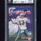 1997 Topps Career Best #1 Dan Marino - Miami Dolphins Graded BGS 8.5 NM-MT+