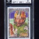 1997 Donruss Legends of the Fall #8 Brett Favre - Packers /10000 Graded BGS 9.0 MINT