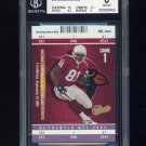 2004 Fleer Authentix Standing Room Only Purple #18 Anquan Boldin - Cardinals 9/10 Graded BGS 8
