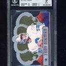 1999 Crown Royale Limited Series #37 Troy Aikman - Dallas Cowboys 89/99 Graded BGS 9.0 MINT