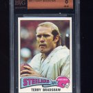 1975 Topps Football #461 Terry Bradshaw - Pittsburgh Steelers Graded BGS 8.0