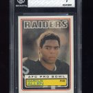1983 Topps Football #294 Marcus Allen RC - Oakland Raiders Graded BGS 7