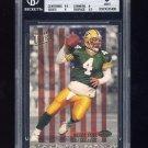 1993 Ultra Stars Football #1 Brett Favre - Green Bay Packers Graded BGS 9.0 MINT
