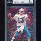 1995 Fleer Aerial Attack #2 Dan Marino - Miami Dolphins Graded BGS 9.0 MINT