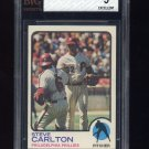 1973 Topps Baseball #300 Steve Carlton - Philadelphia Phillies Graded BVG 5