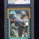 2000 Bowman Chrome Refractors #228 Michael Wiley RC - Dallas Cowboys Graded PGS 9.5 MINT+