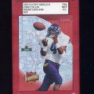 1997 Absolute Football #166 Corey Dillon RC - Cincinnati Bengals Graded PSG MINT 9