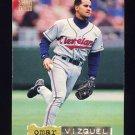 1994 Stadium Club Baseball Golden Rainbow #572 Omar Vizquel - Cleveland Indians