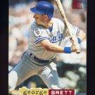 1994 Stadium Club Baseball #005 George Brett - Kansas City Royals