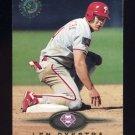 1995 Stadium Club Baseball #442 Len Dykstra - Philadelphia Phillies