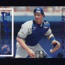 1996 Stadium Club Baseball #217 Mike Stanley SP - New York Yankees
