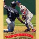 1997 Stadium Club Baseball #124 Omar Vizquel - Cleveland Indians
