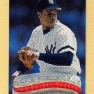 1997 Stadium Club Baseball #105 Dwight Gooden - New York Yankees