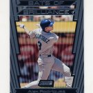 2000 Stadium Club Baseball Bats Of Brilliance #BB8 Alex Rodriguez - Seattle Mariners