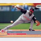 2002 Stadium Club Baseball #042 Pokey Reese - Cincinnati Reds