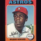 1975 Topps Baseball #563 Wilbur Howard - Houston Astros