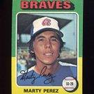 1975 Topps Baseball #499 Marty Perez - Atlanta Braves