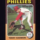 1975 Topps Baseball #399 Terry Harmon - Philadelphia Phillies