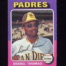 1975 Topps Baseball #378 Derrel Thomas - San Diego Padres
