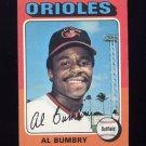1975 Topps Baseball #358 Al Bumbry - Baltimore Orioles