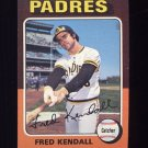 1975 Topps Baseball #332 Fred Kendall - San Diego Padres