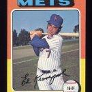 1975 Topps Baseball #324 Ed Kranepool - New York Mets
