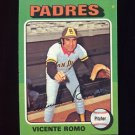 1975 Topps Baseball #274 Vicente Romo - San Diego Padres