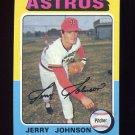 1975 Topps Baseball #218 Jerry Johnson - Houston Astros