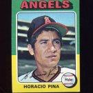1975 Topps Baseball #139 Horacio Pina - California Angels