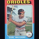 1975 Topps Baseball #097 Earl Williams - Baltimore Orioles