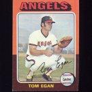 1975 Topps Baseball #088 Tom Egan - California Angels