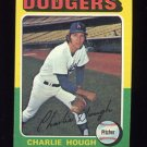 1975 Topps Baseball #071 Charlie Hough - Los Angeles Dodgers