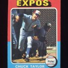 1975 Topps Baseball #058 Chuck Taylor - Montreal Expos