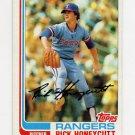 1982 Topps Baseball #751 Rick Honeycutt - Texas Rangers
