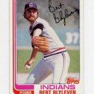 1982 Topps Baseball #685 Bert Blyleven - Cleveland Indians
