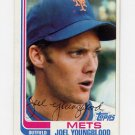 1982 Topps Baseball #655 Joel Youngblood - New York Mets