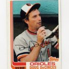 1982 Topps Baseball #564 Doug DeCinces - Baltimore Orioles