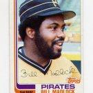 1982 Topps Baseball #365 Bill Madlock - Pittsburgh Pirates