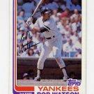 1982 Topps Baseball #275 Bob Watson - New York Yankees