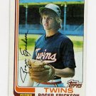 1982 Topps Baseball #153 Roger Erickson - Minnesota Twins