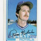 1982 Topps Baseball #104 Rance Mulliniks - Kansas City Royals
