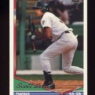 1994 Topps Gold Baseball #517 Scott Leius - Minnesota Twins