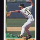 1994 Topps Gold Baseball #465 Dennis Eckersley - Oakland A's