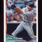 1994 Topps Baseball #612 Jim Thome - Cleveland Indians