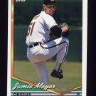 1994 Topps Baseball #526 Jamie Moyer - Baltimore Orioles