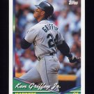 1994 Topps Baseball #400 Ken Griffey Jr. - Seattle Mariners