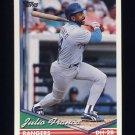 1994 Topps Baseball #260 Julio Franco - Texas Rangers