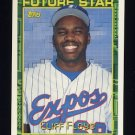 1994 Topps Baseball #259 Cliff Floyd - Montreal Expos