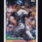 1994 Topps Baseball #050 Moises Alou - Montreal Expos