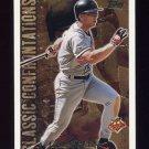 1996 Topps Baseball Classic Confrontations #CC2 Cal Ripken - Baltimore Orioles